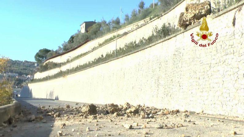 Cosenza, un'altra frana mette in ginocchio la città vecchia - VIDEO