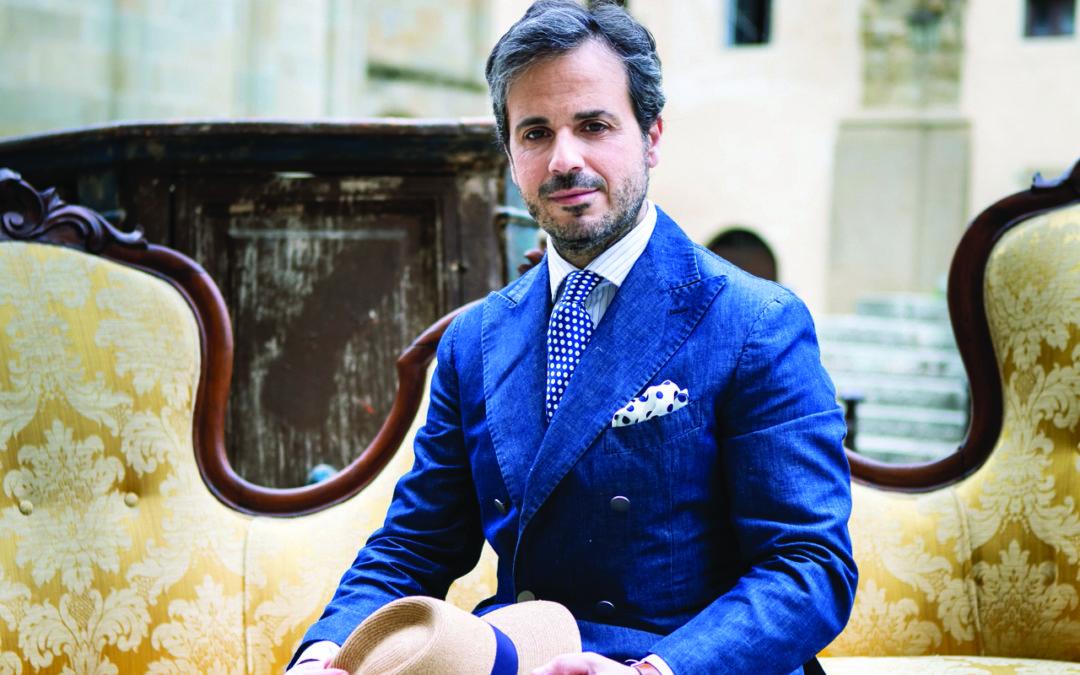 Il fashion blogger Antonio il Marchese