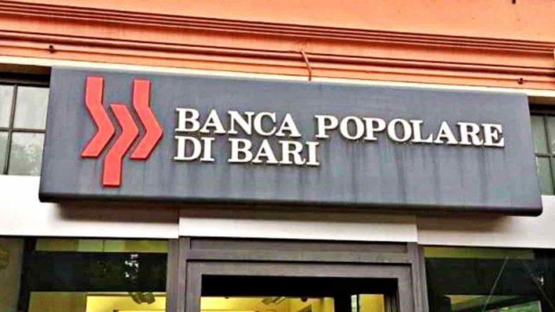 Sequestro da 16 milioni di euro a ex dirigenti della Banca Popolare di Bari
