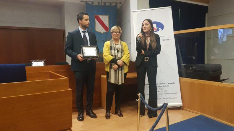 Consiglio regionale e Forum premiano i giovani eccellenti del 2019