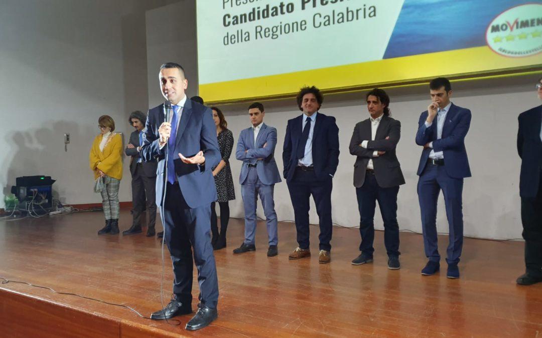 M5s, Di Maio presenta team futuro: da oggi non più solo