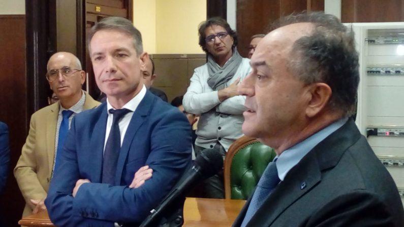 Si insedia Falvo, nuovo procuratore di Vibo: «Procura moderna e aperta al cittadino» - FOTO