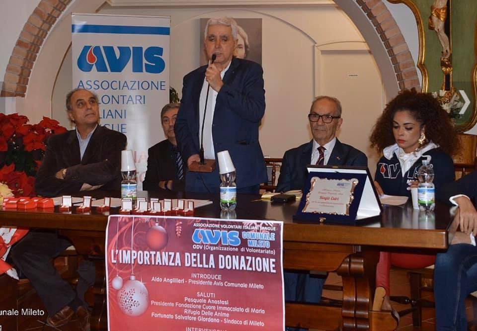 Mileto, grande partecipazione alla Festa del Donatore dell'Avis Comunale
