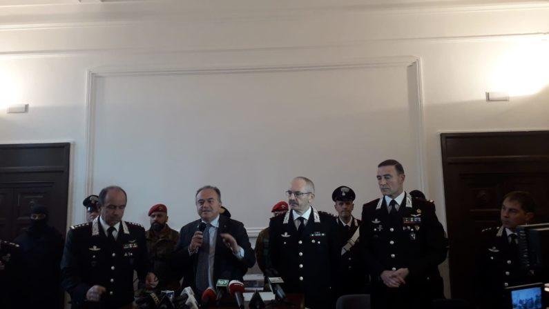 'Ndrangheta, si costituisce ricercato di Vibo coinvolto nel maxi blitz dei carabinieri