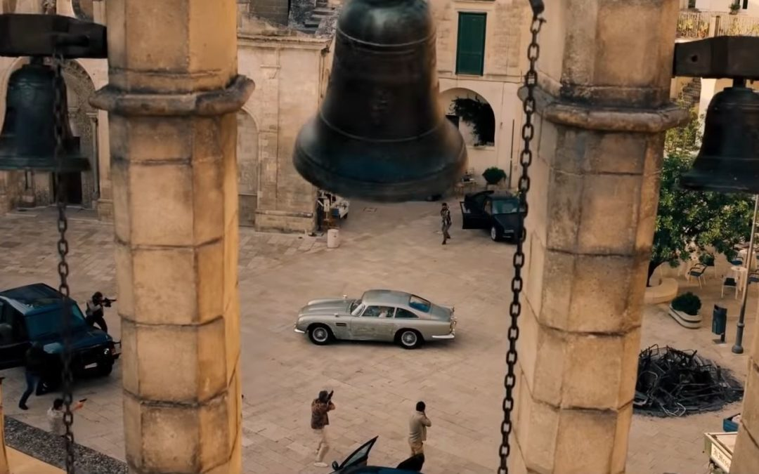 "Ecco le prime immagini di ""No time to die"", l'ultimo film di James Bond girato a Matera – VIDEO"