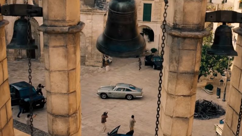 "Ecco le prime immagini di ""No time to die"", l'ultimo film di James Bond girato a Matera - VIDEO"
