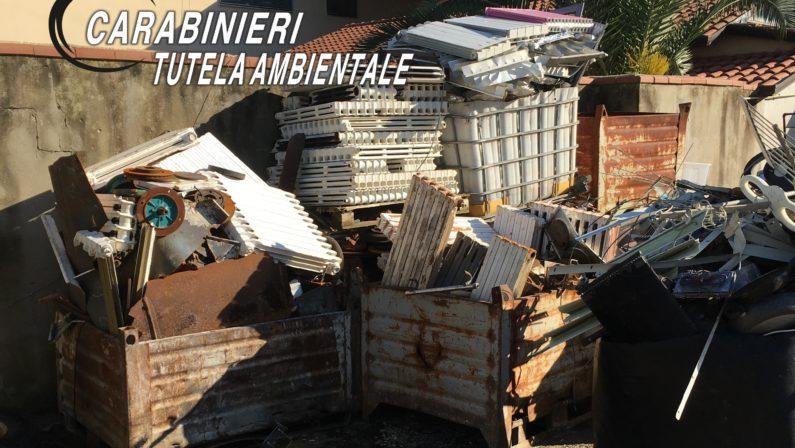 Sequestrata discarica abusiva di rifiuti speciali anche pericolosi