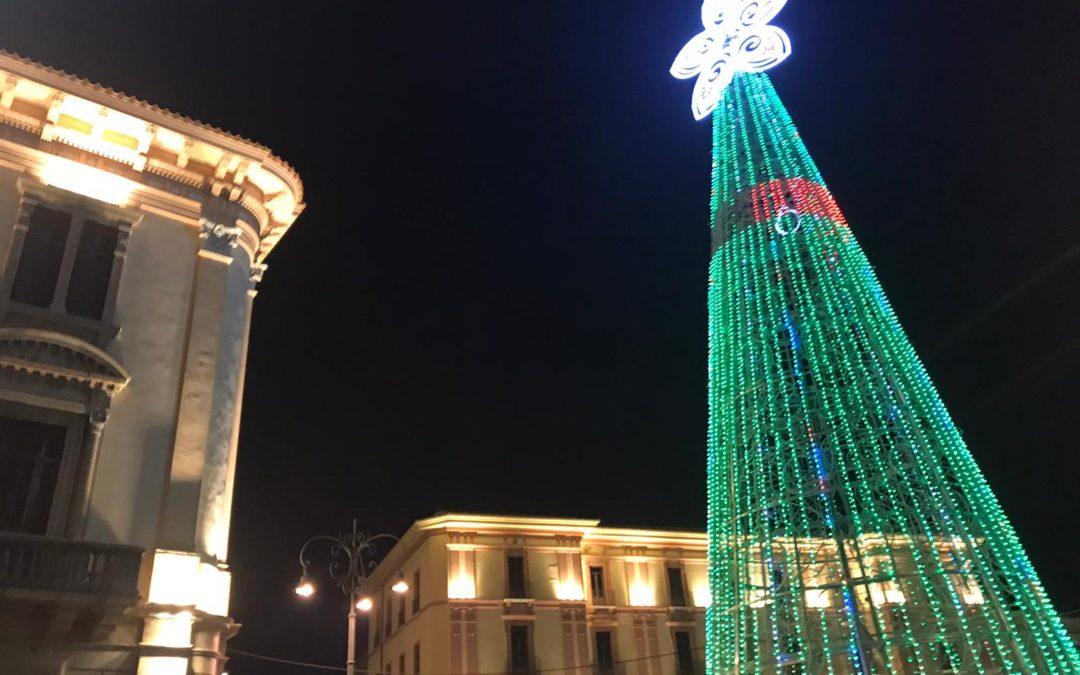 Si accende l'Albero Festa: in quattro mesi  una svolta importante