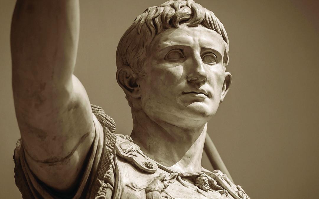 Una statua del II secolo dopo Cristo dell'imperatore Augusto