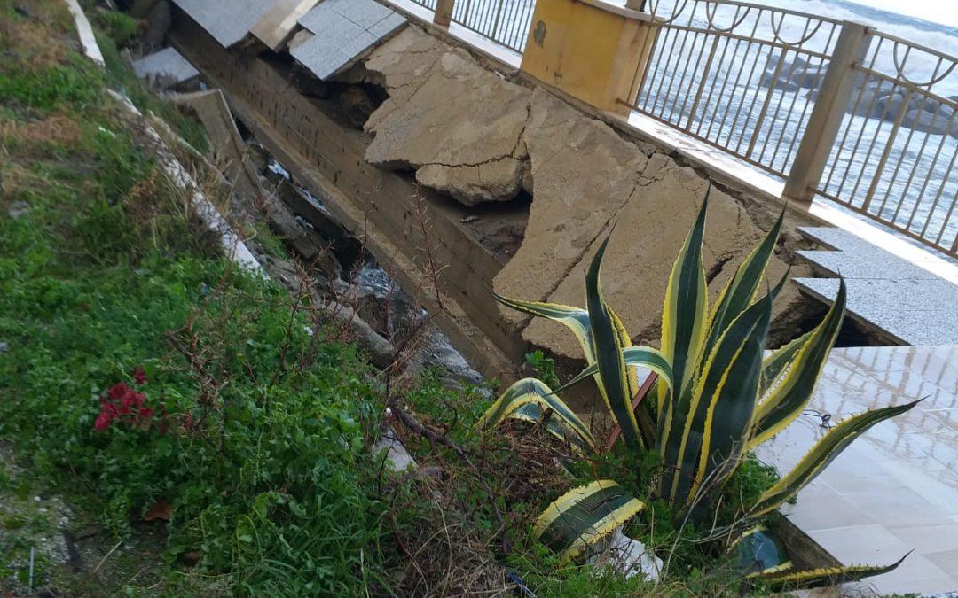 Maltempo, il vento e la pioggia flagellano la Calabria: molti i danni nelle province di Catanzaro, Vibo e Cosenza