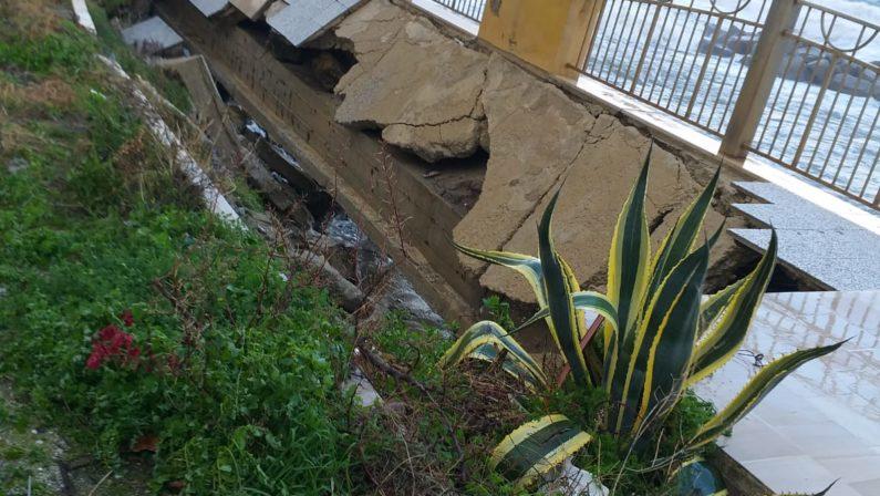 Maltempo, il vento e la pioggia flagellano la Calabria: molti i danni nel Vibonese- LE FOTO