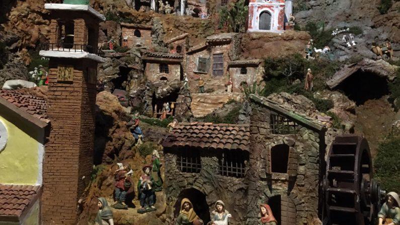 L'arte presepiale di scena nel Catanzarese, l'opera realizzata da un gruppo di volontari