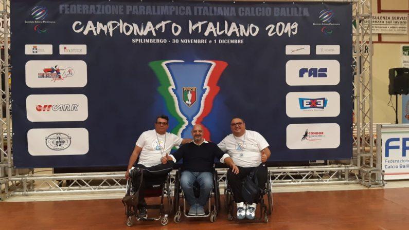 Sport paralimpico, due lucani vicecampioni italiani nel calcio balilla