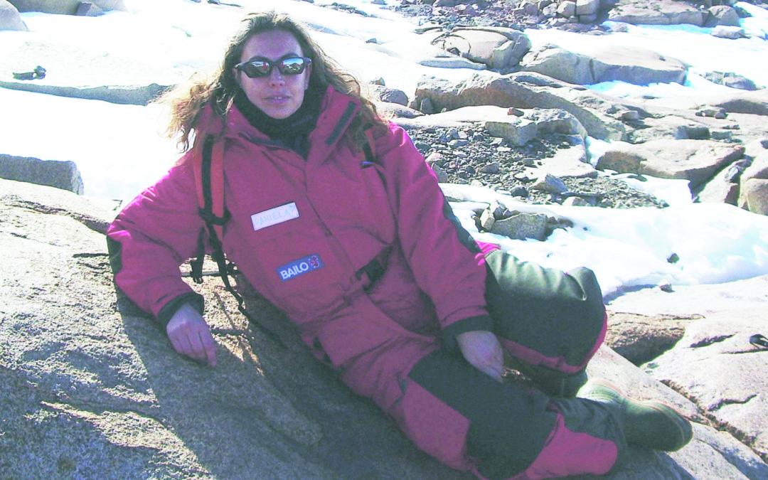 Daniela Pellegrino in Antartide