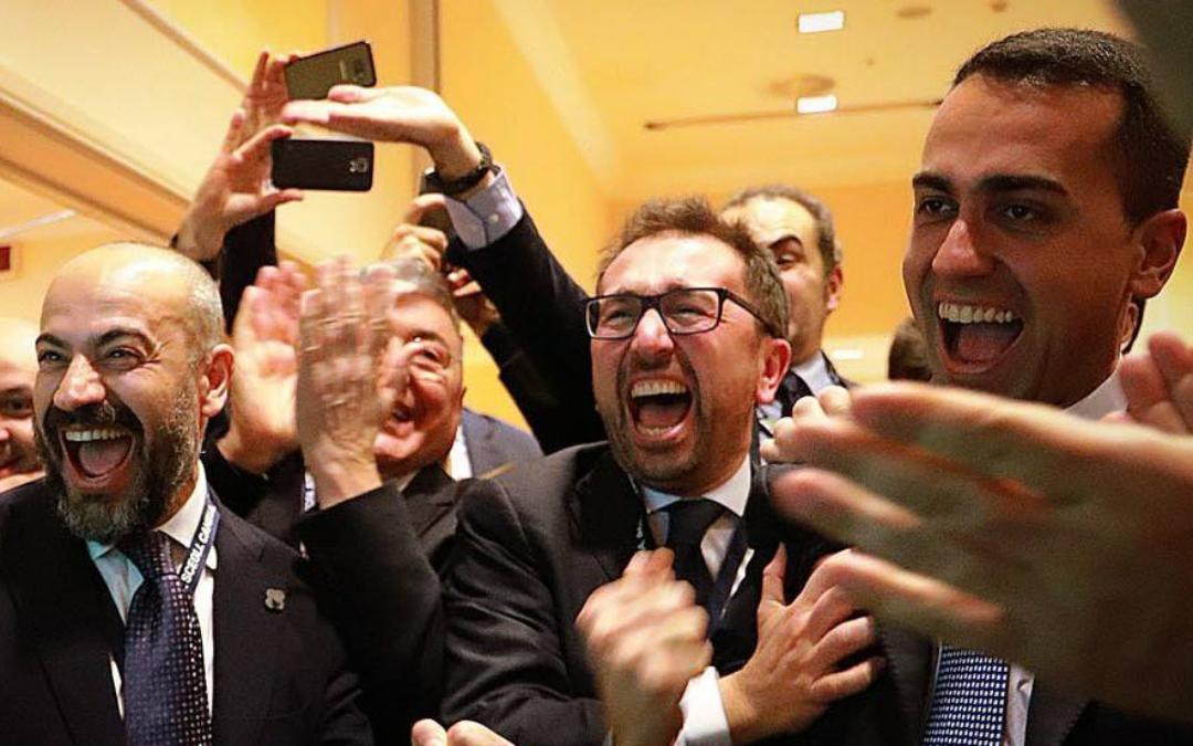 L'editoriale del direttore Roberto Napoletano L'ALTRAVOCE dell'Italia Il mandato tradito