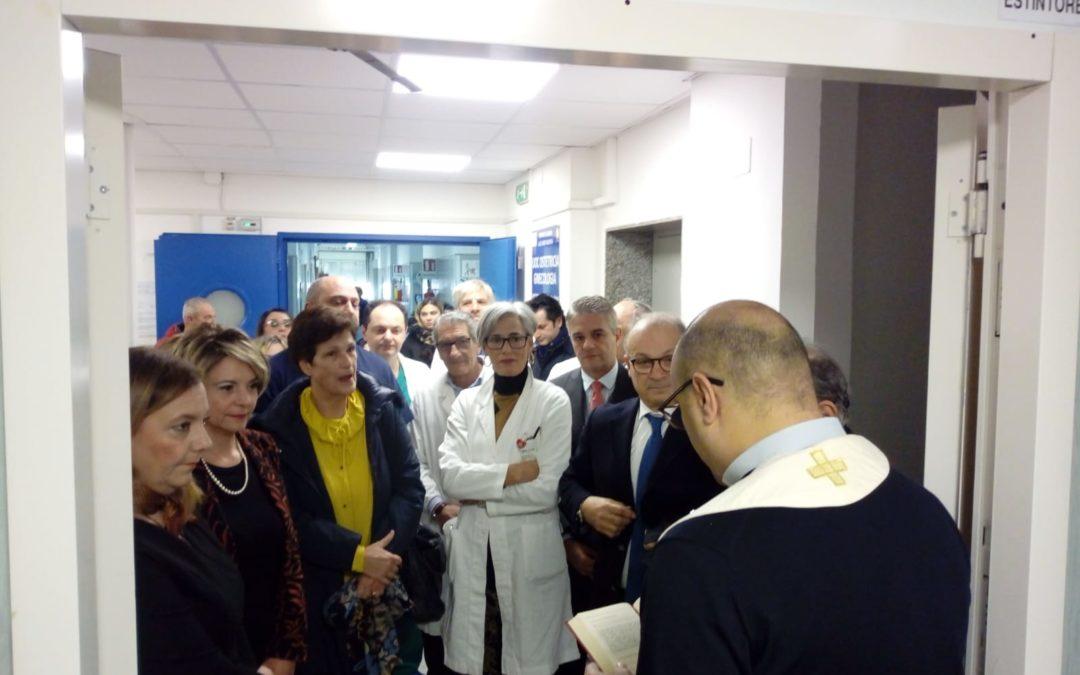 FOTO – Inaugurato il nuovo reparto di Maternità e Ostetricia dell'ospedale di Vibo Valentia