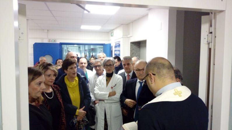 FOTO - Inaugurato il nuovo reparto di Maternità e Ostetricia dell'ospedale di Vibo Valentia