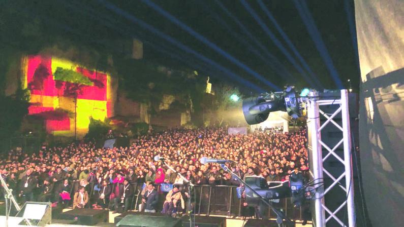 Matera chiude il 2019 da Capitale con i fischi a Bardi
