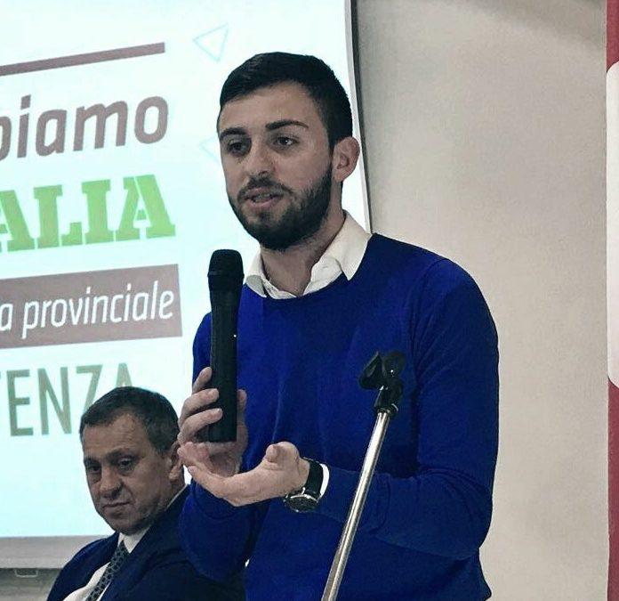 Michele Fasanella, coordinatore regionale Movimento Giovanile della Sinistra di Basilicata