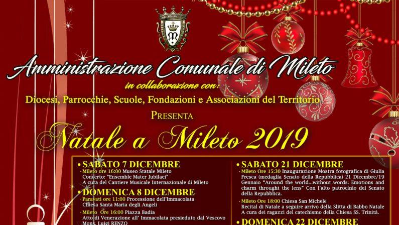 Mileto, l'Amministrazione comunale vara il calendario degli eventi natalizi
