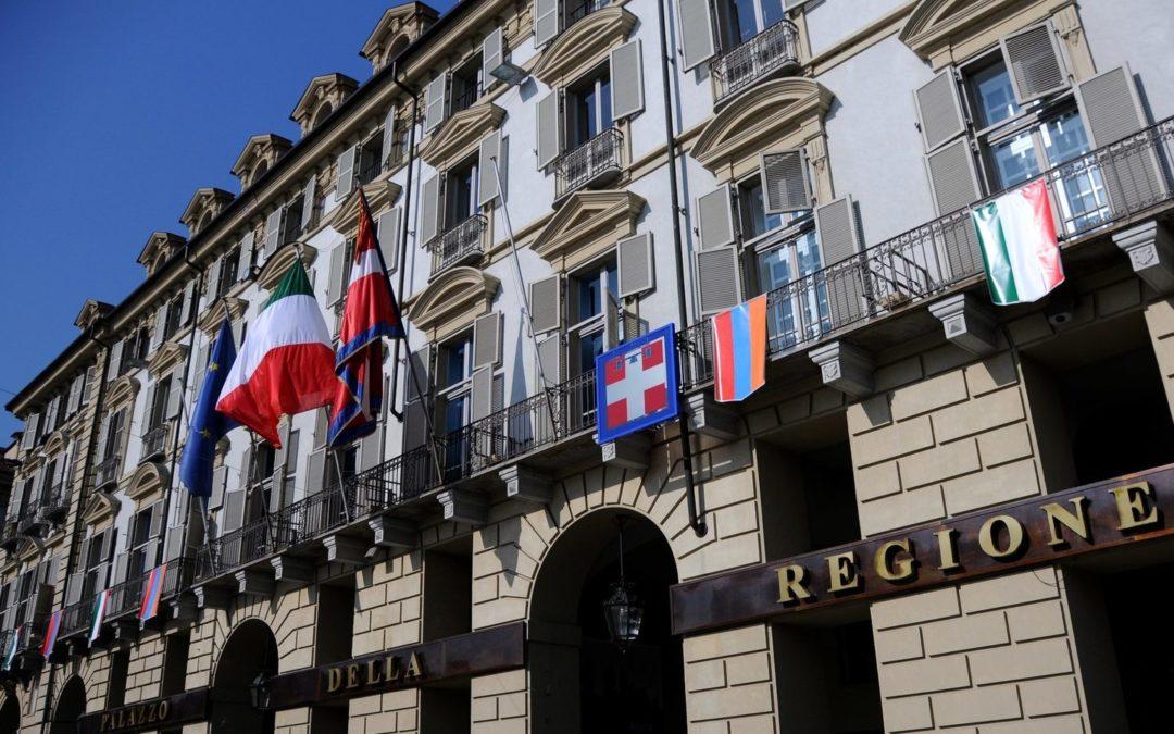 Il palazzo della Regione Piemonte