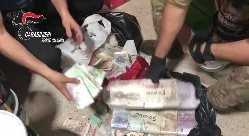 Un sequestro di soldi durante l'operazione Ares