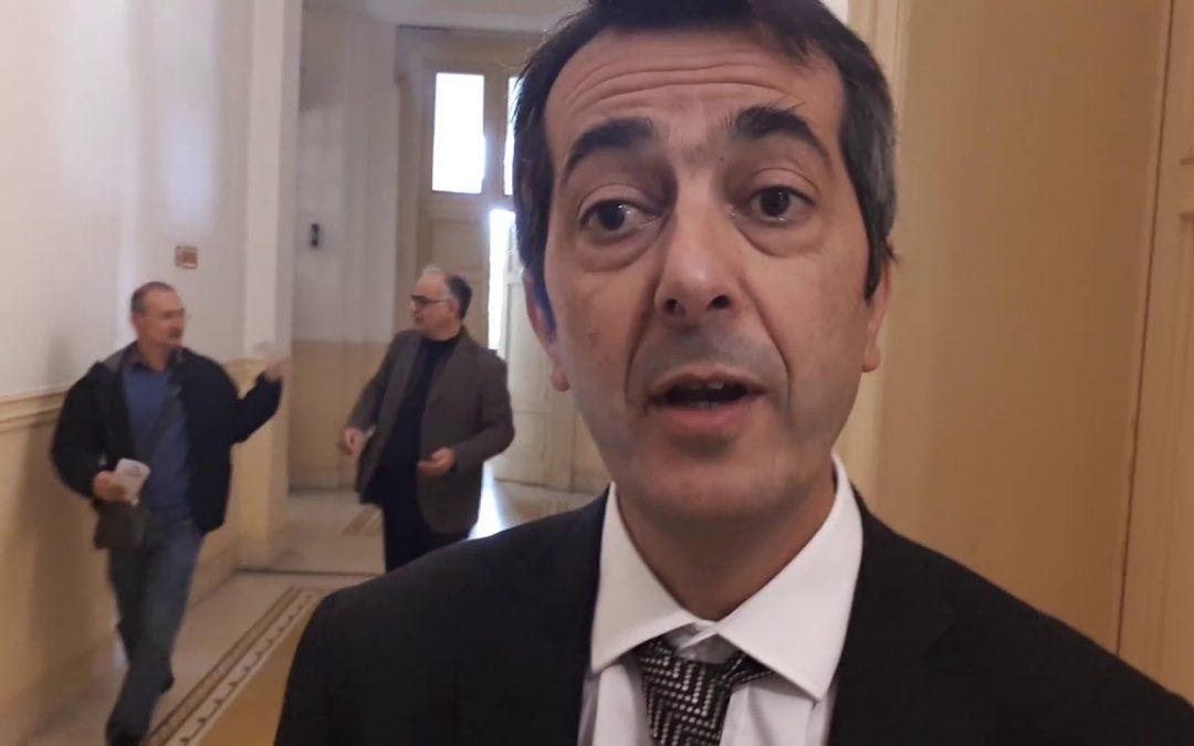 L'ex sindaco di Taurianova Fabio Scionti