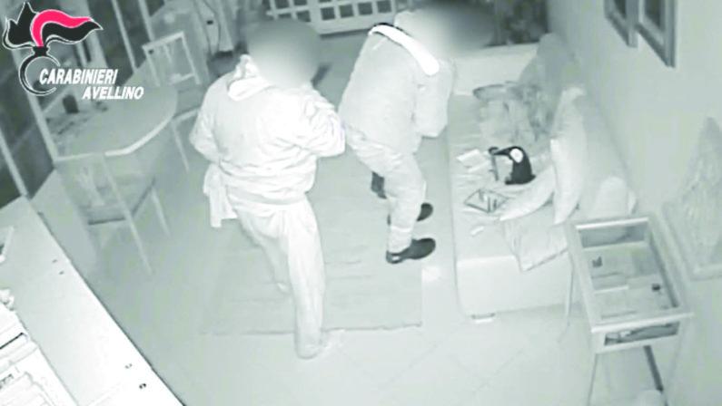 Sassi contro le finestre e targhe false per i furti