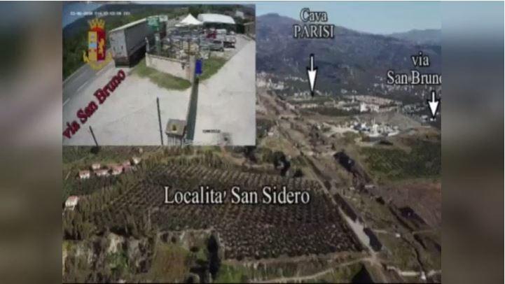 Rifiuti sversati in discariche abusive del Lametino, venti arresti in provincia di Catanzaro
