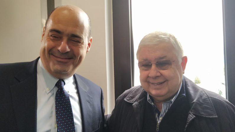 FOTO – Zingaretti incontra Callipo e visita la sua azienda