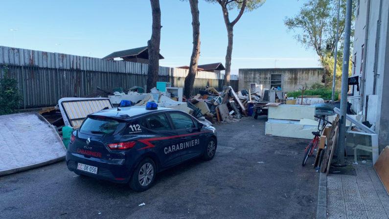 Sicurezza ambientale, carabinieri denunciano 3 persone
