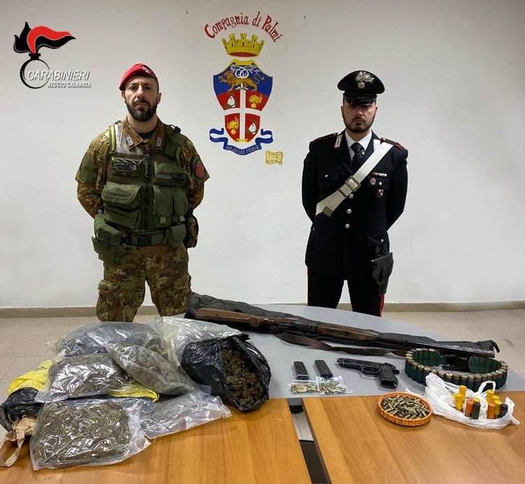 Armi, munizioni e refurtiva scoperte nelle campagne del Reggino