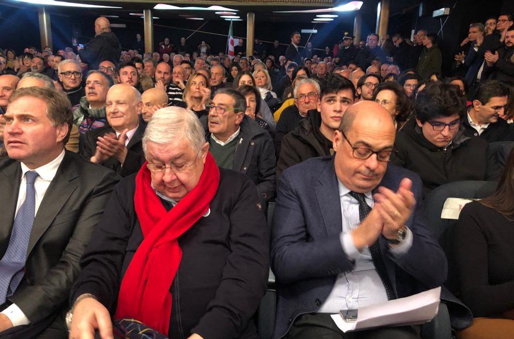 Zingaretti: «Callipo persona libera. Ai calabresi dico: attenti alle invasioni»