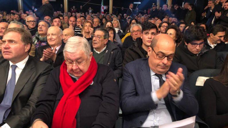 Zingaretti: «Callipo persona libera. Ai calabresi dico: attenti alle invasioni» VIDEO