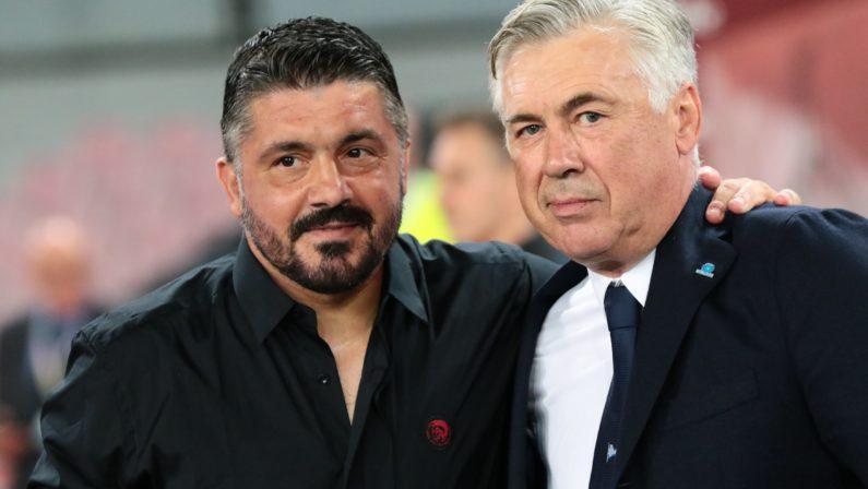"""Ancelotti e Gattuso: come dividere le colpe del """"flop"""" Napoli?"""