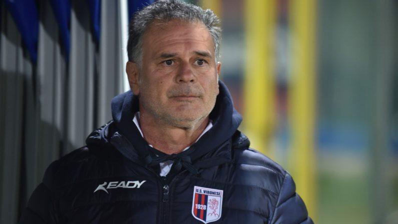 L'allenatore della Vibonese squalificato per 4 mesi La Commissione Disciplinare ferma Giacomo Modica