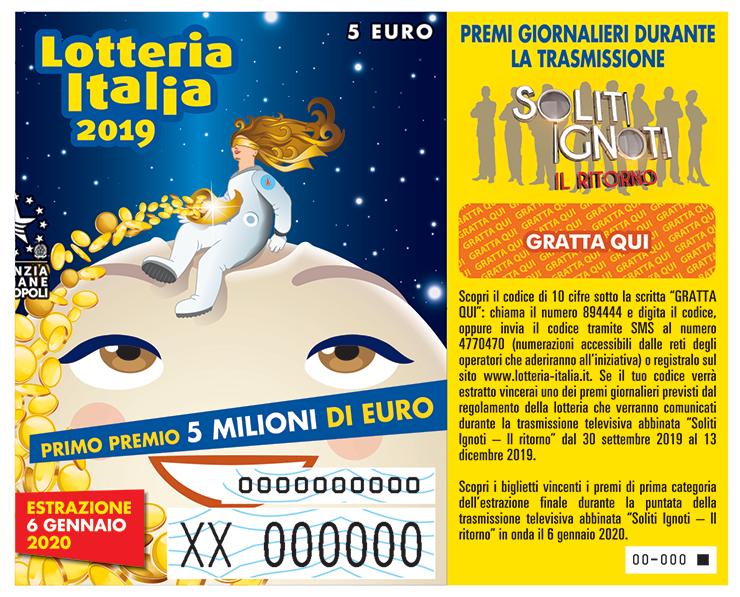 Lotteria Italia, staccati oltre 6,7 milioni di biglietti, in Calabria scendono le vendite