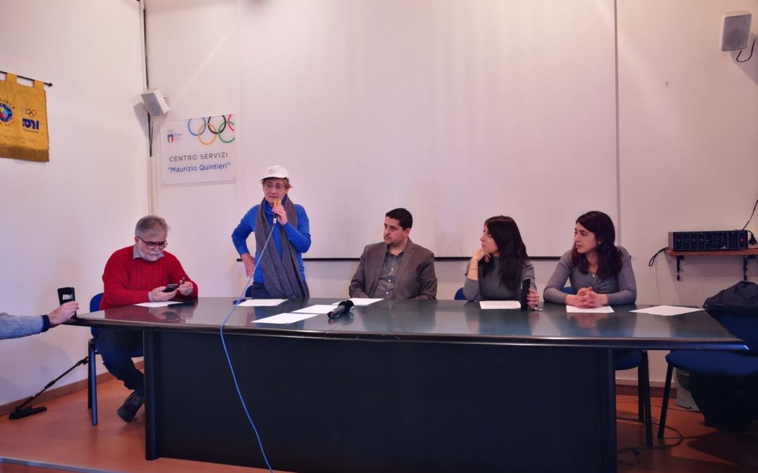 La conferenza stampa degli attivisti del M5S a Cosenza