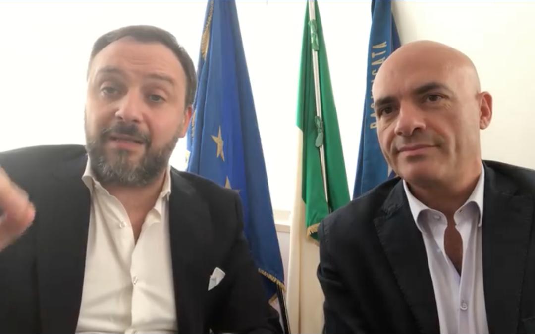 I consiglieri regionali Mario Polese e Luca Braia sono stati eletti con il Partito democratico nel marzo 2019