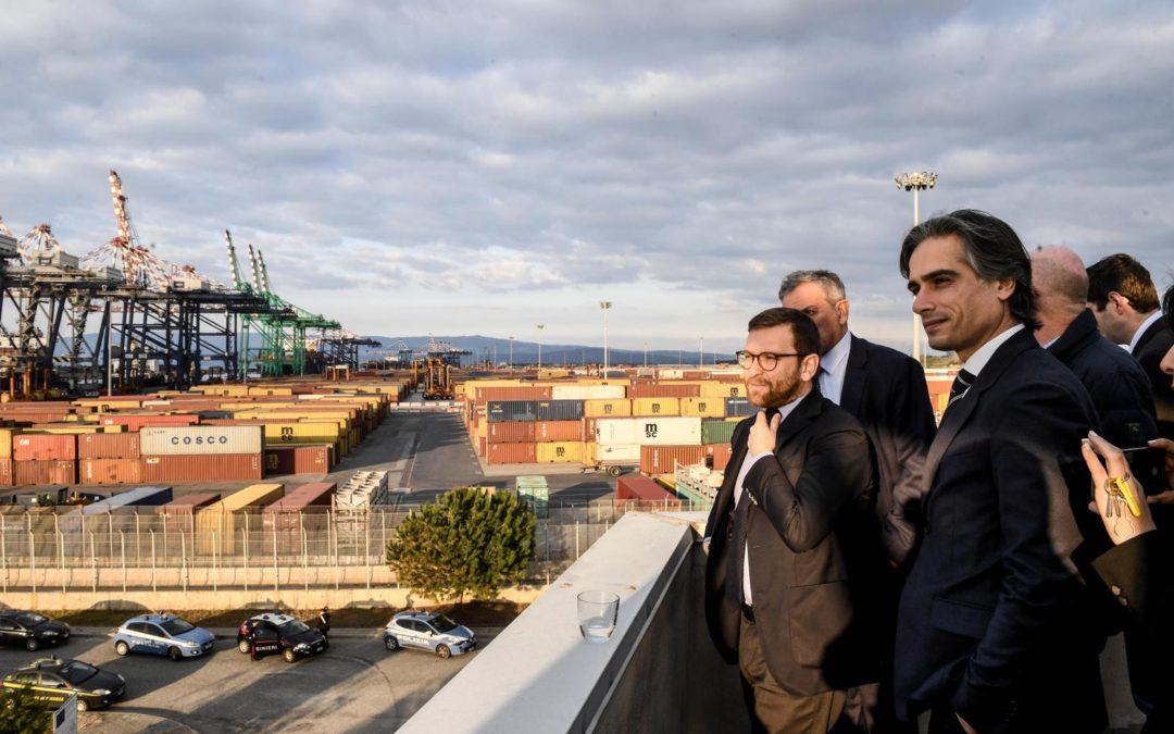 Il presidente Conte e il ministro Provenzano a Gioia Tauro per presentare il Piano per il Sud