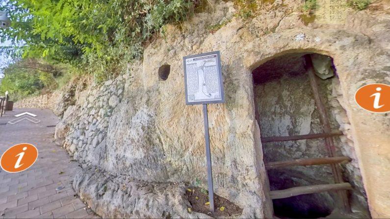 Zungri, in un sito web il tour a 360 gradi della città della pietra