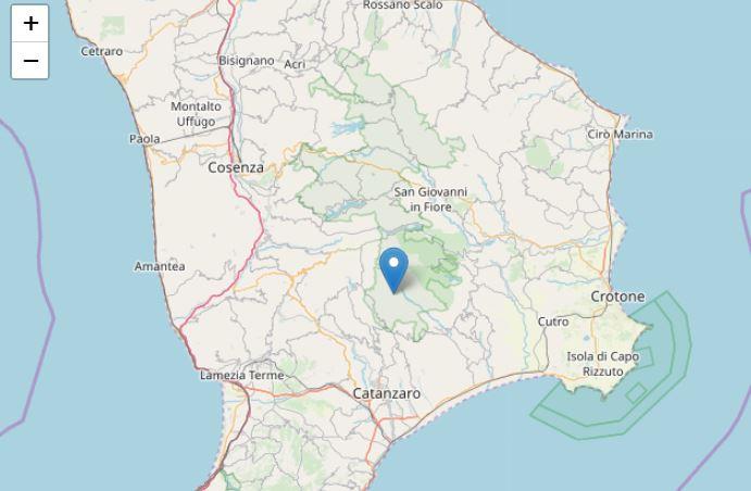 Tre scosse di terremoto in provincia di Catanzaro La terra continua a tremare sempre ad Albi