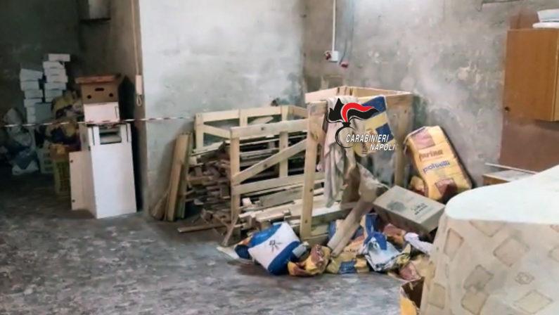 Acerra, scoperto forno abusivo in cui bruciavano pedane con chiodi
