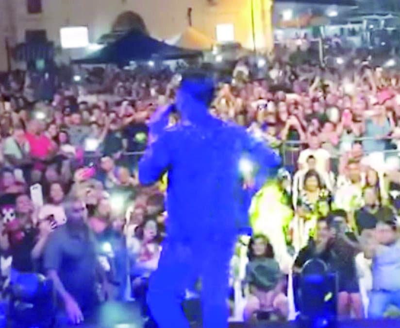 Il concerto dell'11 agosto 2018 a Scanzano Jonico