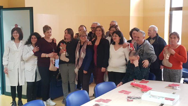 Epifania di solidarietà, D'Amelio e Morgante in visita ai pazienti della Sps di Bisaccia