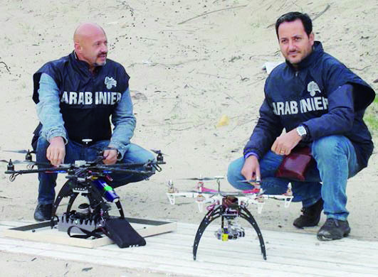 Lotta alle truffe in agricoltura, nel Materano arrivano i droni