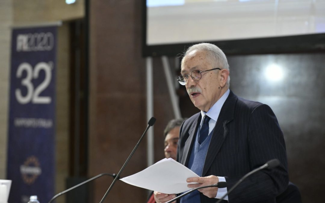 Il presidente dell'Eurispes Gian Maria Fara