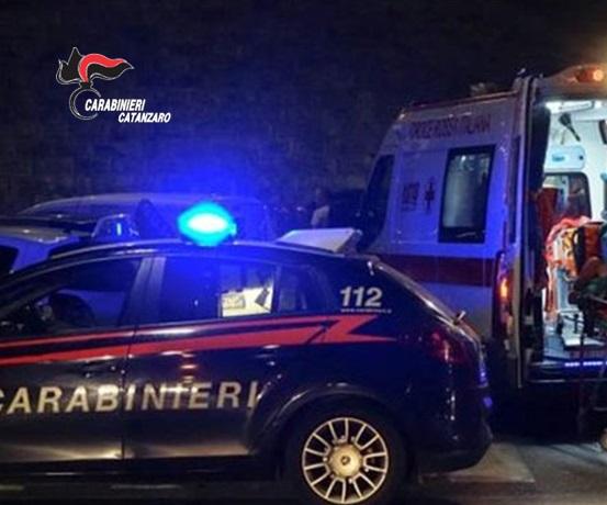 Ubriaco investe un pedone e fugge, arrestato dai carabinieri nel Catanzarese