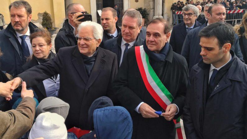 Mattarella a Benevento inaugura anno accademico università