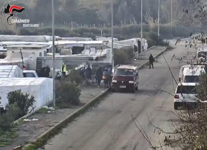 Il campo migranti di Rosarno